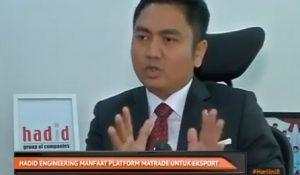 Hadid Engineering Manfaat Platform MATRADE Untuk Export