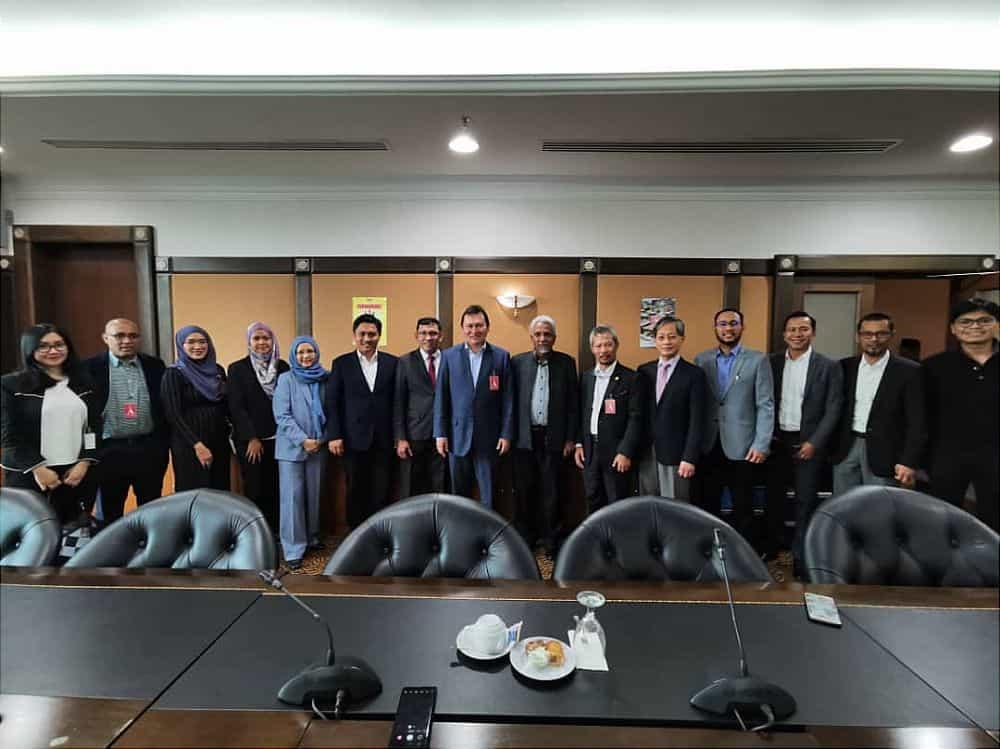 With Dato Syed Bakri